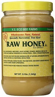 Raw Unpasteurized Honey