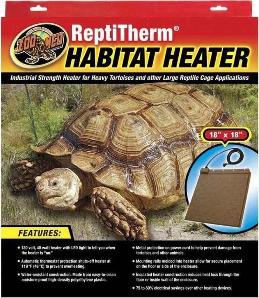 Zoo Med Laboratories SZMRH20 Habitat Heater